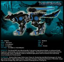 Zoids: Konig Wolf - Taintblade by FragmentChaos