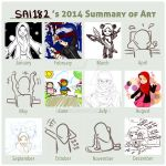 SAI182's 2014 art summary by SAI182