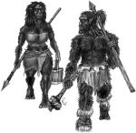 Race: Brown Orcs by Spheretraveller