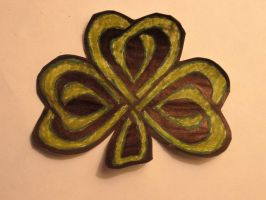 celtic clover by superdan8504