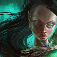 Ivanna Nekoda from Pawns, Kasbil's Tale (close up) by SolDevia