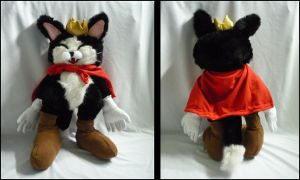 Cait Sith plush by cloudstrife597