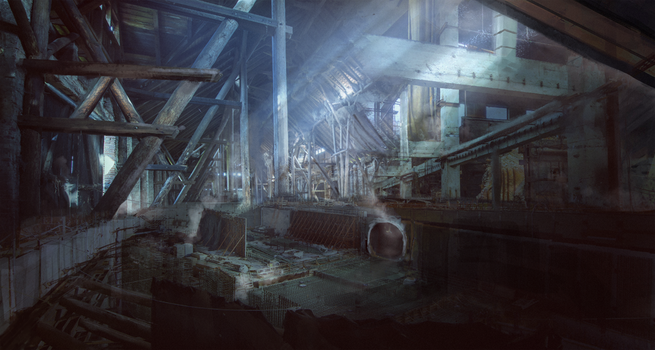 Abandoned factory by stgspi