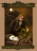 Peter Pettigrew by WhiteElzora