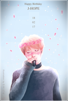 Happy Birthday JHOPE 18022017 by ShizukaMapache