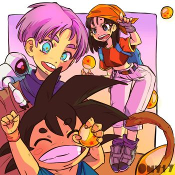 Dragon ball gt by Ony-b