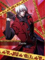 If Dante was in DMT by AnimeHearts03