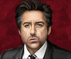 The Great Robert Downey Jr by Chicken-Priestess