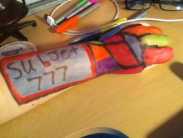 Arm Art. Subject 666-777 by ZANe-The-Damned