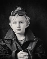 The Young and Cool Biker 01 by HorstSchmier