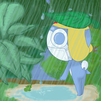 Rain Shower by CassedyDuel