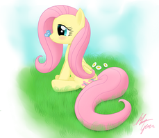 Fluttershy by SameAsUsual