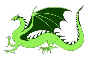 Lime Green Wyrm by Jakegothicsnake