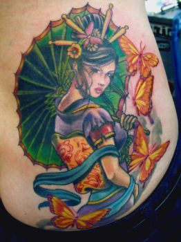 GEISHA TATTOO 12 by mojoncio