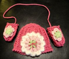Emmalyn's Hat and Mittens by weblore