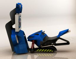 Snowmobile concept 02 by ManicGraphix