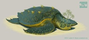 Grand Sea Turtle by Luneder