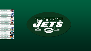 New York Jets 2013 Schedule Wallpaper by SevenwithaT