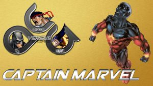 Captain Marvel in DCCapMar Mug by anubis55