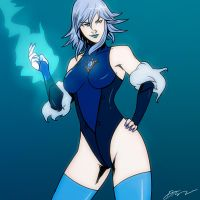 Killer Frost by SoDrawnOut