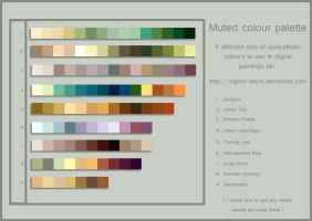 254 colour palette muted by Tigers-stock