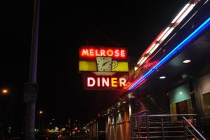Melrose Diner by posipony