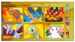My Pokemon Roster by andrewbaay