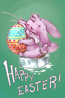 HAPPY EASTER by atryl