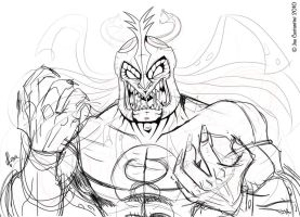 Sketchy Mumm-ra by 2Ajoe
