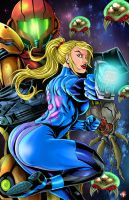 Zero Suit Samus 2015 by WiL-Woods