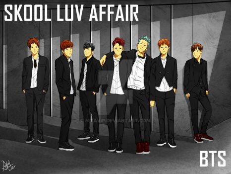 Bangtan Boys (BTS) by nitaVIP