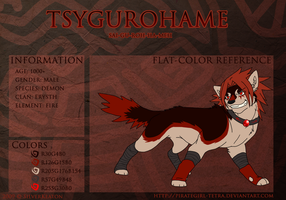 Tsygurohame canine ref sheet by PirateGirl-Tetra