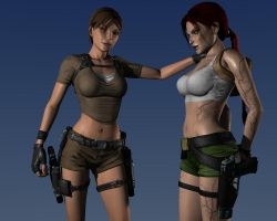 Lara and DG by Hiddenus