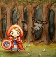 Little Red Riding Steve by B-Keks