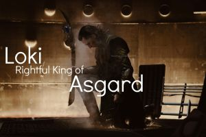Rightful King of Asgard by NeonTardis