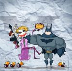Dark Knight vs Joker by lost-angel-less