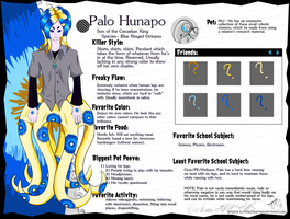 Palo Hunapo -- Monster High OC by ThePopek