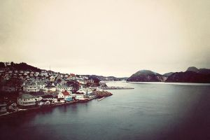 Farsund Norway by bluetogray