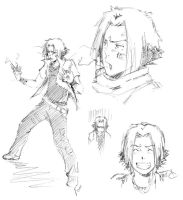 Gokudera sketch by Sideburn004