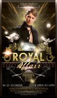 Royal Affair Flyer Template by ysfkrk