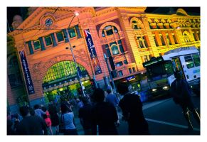 Flinders St 2012 by Cameron-Jung