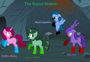 The Reject Sisters (More Info. Coming Soon) by wezzie1