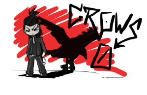 -CROWS ZERO- Genji chibi by Superlevenloos