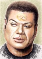 Christopher Judge mini-portrait by whu-wei