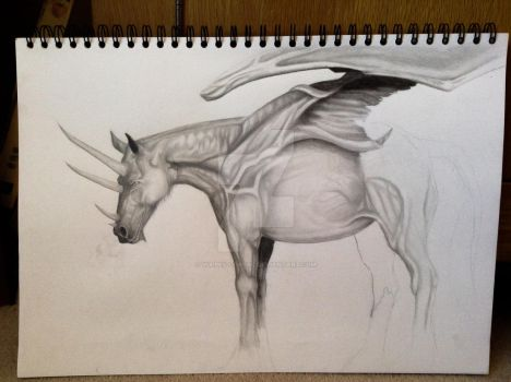 The dragon thing WIP by Vulpes-Corsac