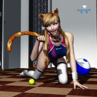 Miau !!!! by Daniel-Remo-Art