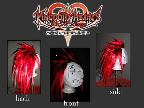 Axel wig by Team66cosplay