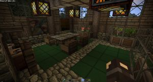Farm House Interior by oddworld90