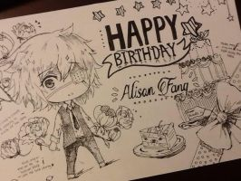 HBD Alison by zoklock