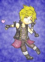 Chibi Prompto by MadeInHeavenFF15